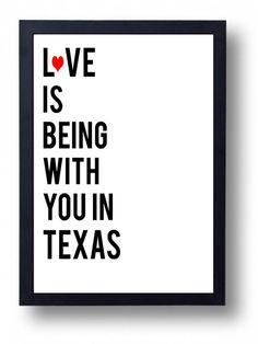 1st Anniversary Gift  Wedding Sign Texas by instantdownloadart, $5.00