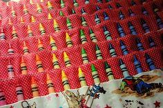 Crayon Rolls.