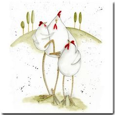 Mother's Day Greeting Cards by British artist Sarah Boddy. Shop our lovely range of greeting cards, wrapping paper and homewares! Chicken Humor, Chicken Art, Funny Chicken, Watercolor Artwork, Watercolor Cards, Doodle Doo, Crazy Bird, Mother's Day Greeting Cards, Funny Birds