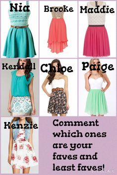 Which one do you like the best? Comment down below. All credit goes to Queen Nikki.
