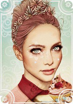 Ilustraciones de moda por Elodie | Undermatic Fashion illustration
