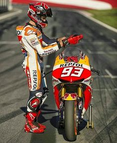 Marc Marquez MM93 MotoGP