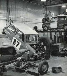 Monte Carlo 1966 Mini Team Rally