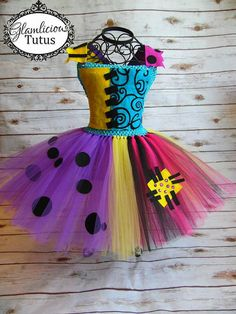 Sally inspirado Tutu Dress Sally Costume Niño por GlamliciousTutus                                                                                                                                                                                 Más