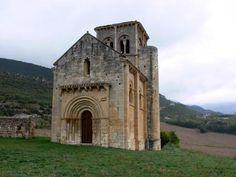 PUENTE ARENAS (Aldea de la Merindad de Valdivielso). Burgos. Ermita de San Pedro de Tejada (sXII).