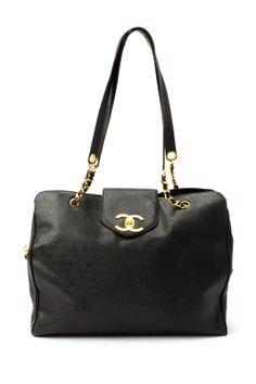 Vintage Chanel Leather Supermodel Bag