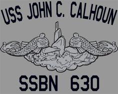 USS John C. Calhoun (SSBN-630) - Google Search