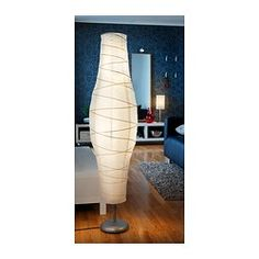 Again it called my name when I walked into IKEA...DUDERÖ Floor lamp, silver-color/white - IKEA $14.99. xxx