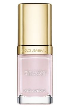 Dolce&Gabbana Beauty 'The Nail Lacquer' Liquid Nail Lacquer - This polish has great application (it's all in the brush), it's dries pretty shiny w/o a top coat, & once I added my Seche top coat, it looked like I had on get color... If it lasts for a while I just may invest in a bottle. So far, it seems absolutely worth it