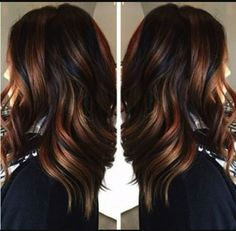 The beginning of the year maybe should be celebrated with a new hair color.Here are the biggest hair color trends and techniques for New Hair Color Trends, New Hair Colors, Winter Hair Colors, Brunette Hair Colors, Fall Hair Trends, Different Hair Colors, Blonde Hair, Cabelo Tiger Eye, Hair Color Techniques