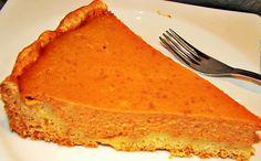 Uma delicia esta receita de Tarte de Abóbora! Esta tarte de Abóbora é também mais uma forma de utiliza a Abóbora, fazendo receitas fáceis e económicas, e excelente para sobremesas ou lanches.