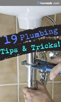 Amazing plumbing tips and tricks!