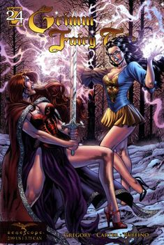 Grimm Fairy Tales #24 - Snow White & Red Rose, Part 2 (Issue)