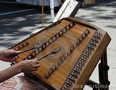 """Hammered Dulcimer. I have one of these. I bought an album of Hammered Dulcimer music called """"Smokey Mountain Seventies"""" by Green Hill. Loved it so much that I went out and bought one."""