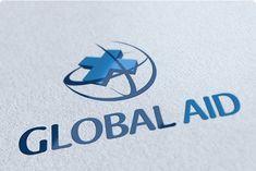 Check out Global Aid Logo Design by getlogo on Creative Market Creative Market, Superhero Logo Templates, Environment Logo, Logo Psd, Medical Logo, Creative Sketches, Pencil Illustration, Paint Markers, Business Card Logo