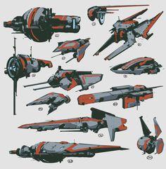 Space Ship Concept Art, Robot Concept Art, Concept Ships, Robot Art, Spaceship Art, Spaceship Design, Spaceship Concept, Stargate, Cyberpunk