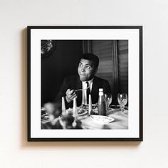 Muhammad Ali - From the Getty Images Hulton Archive - Touch of Modern Heavyweight Boxing, Boxing Champions, Sports Images, Muhammad Ali, Art Photography, Batman, Museum, Superhero, Frame