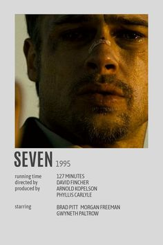 SEVEN POLAROID FILM POSTER