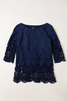 Bloomed Lace Pullover - anthropologie.eu