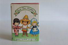 Love One Another by Joan Walsh Anglund, Vintage Children's Book, First Edition, 1981 www.etsy.com/shop/petitpoesy