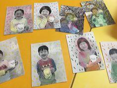 봄꽃 액자 만들기 활동입니다 ^^ 흰 배경에 컵 하나 들고 사진을 찍었어요 ^^ 그리고 Prisma 어플을 이용... Mothers Day Crafts, Creative Crafts, Art For Kids, Kid Art, Holidays And Events, Kindergarten, Classroom, Education, Frame