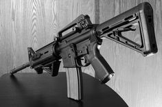 M4 Carbine (Photography by  ZORIN DENU) Home Defense, Self Defense, M4 Carbine, Home Protection, Military Guns, M 4, Guns And Ammo, Tactical Gear, Shotgun