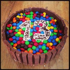 Birthday cake for the birthday boy