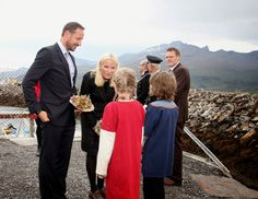 Queens & Princesses - Prince Haakon and Crown Princess Mette Marit began an official three-day visit in the Norwegian region of Nordland.