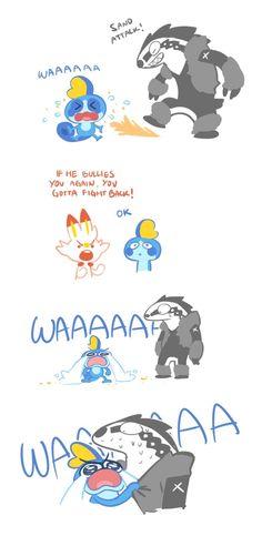 Pokemon Comics, Pokemon Memes, Pokemon Funny, All Pokemon, Pokemon Fan Art, Pokemon Stuff, Random Pokemon, Doremi Anime, Pokemon Breeds