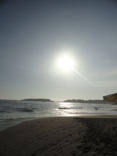 El Sol... Va bajando... Perú - Punta Hermosa.