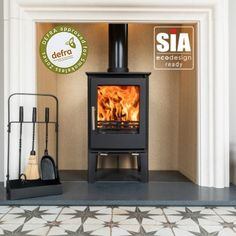 Ecosy+ Snug 5kw Tall Multi-Fuel, 2022 Ecodesign Ready, Defra-Approved Stove Cheap People, Wood Fuel, Multi Fuel Stove, Into The Fire, Four Corners, Steel Plate, Wood Burning, Hearth, Clear Glass