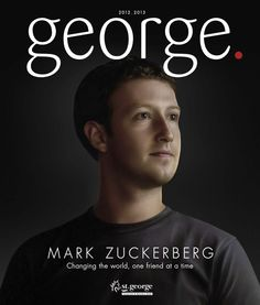 George magazine cover