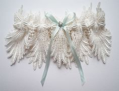 I bought this for my BFF's bridal shower and she loved it. :) I love the fact that it has something blue in it. Claire makes amazing garters and I totally recommend her Florrie Mitton Couture Collection. ♥
