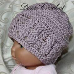 Čepičky – 2. stránka – NÁVODY NA HÁČKOVÁNÍ Crochet Beanie, Crochet Hats, Baby Born, Weaving, Knitting, Barbie, Decor, Fashion, Crochet Smock Tops
