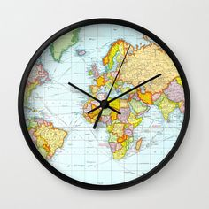 Modern Clock Modern Wall Clock Modern Clock by STANLEYprintHOUSE