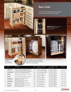 Richelieu Catalog Library - Storage Accessories  - page 13