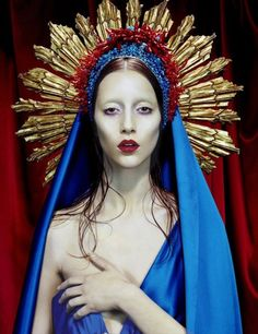 maculée #3, 2007, [Virgins] collection, photo © Miles Aldridge, Haute couture…