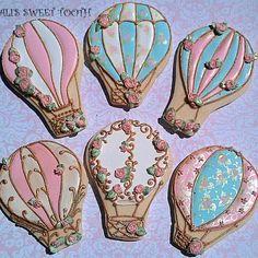 Shabby Chic Hot Air Balloons