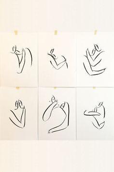 Andrea Kollar is an Austrian born artist, illustrator and art director. Black And White Art Drawing, Black And White Sketches, Black And White Posters, Oil Pastel Art, Charcoal Art, Couple Art, Diy Painting, Printable Art, Line Art