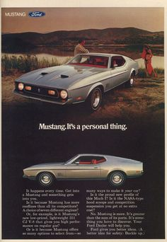 1971 Ford Mustang II Fastback - Productioncars.com