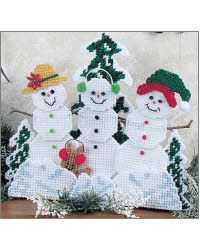 Snowman Trio Shelf Sitter***I just think these three are so cute.***
