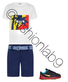 """Kids (boys) ootd"" by fashionlab9 on Polyvore featuring MSGM and Ralph Lauren"