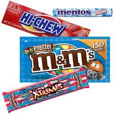 En CVS puedes conseguir una variedad en dulces sueltos como los Mars Chocolate, Air Heads, Hi-Chew o Mentos Mints de 1.08-2 oz a 3 x $3.00 ..