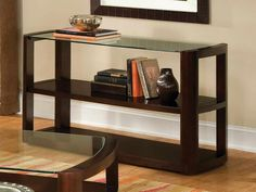 Entryway Console Tables With Book Reading