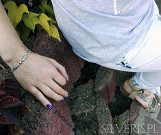 Bransoletka srebrna z Cyrkoniami w sklepie Silveris.pl Silver Rings, Jewelry, Jewlery, Jewerly, Schmuck, Jewels, Jewelery, Fine Jewelry, Jewel
