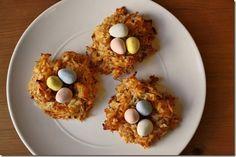 Coconut Birds Nest Recipe