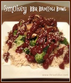 Smokey BBQ Broccoli Bowl | Thrive: Faith, Family & Food