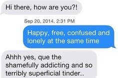 Here's What Happens When You Reply To Dudes On Tinder With Taylor Swift Lyrics... This is kind of awesome.