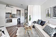 Comment créer une chambre dans un studio sans monter de cloison? | PLANETE DECO a homes world | Bloglovin'