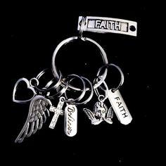 Faithful Key Chain | HEAVENSBOOK ANGELS